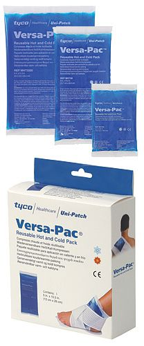VersaPac Reusable Hot & Cold Packs  Stay Cool using Versa-Pac Cold Packs from Medi-Stim, Inc.   www.medi-stim.com