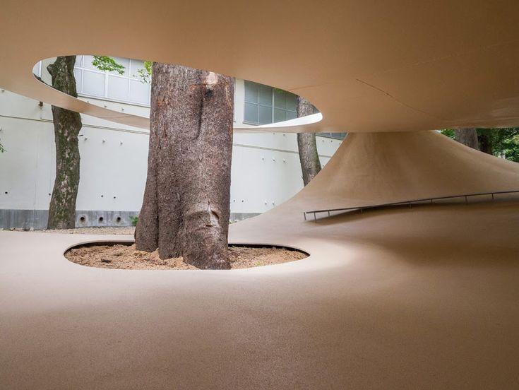 fukita pavilion by ryue nishizawa, kagawa, japan