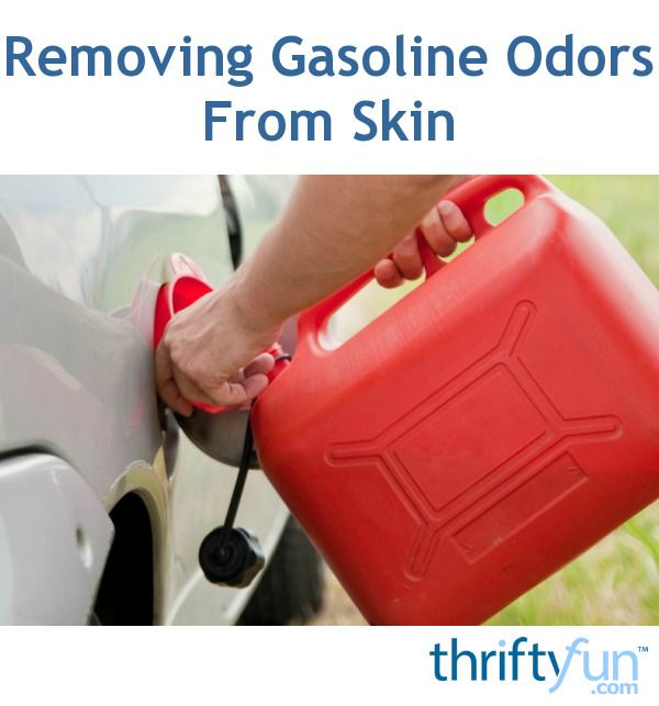 This guide is about removing gasoline smell on skin. Gas can get spilled on your hands when filling your auto or power equipment. It has a very strong odor.