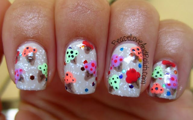 Gorgeous Ice Cream Mani! Looks somewhat 3D too!