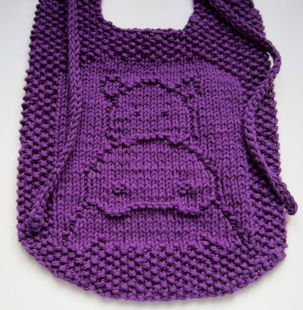 Knitted Bib Patterns- ZOMG! If only I could knit and not just crochet! #auntiesocial