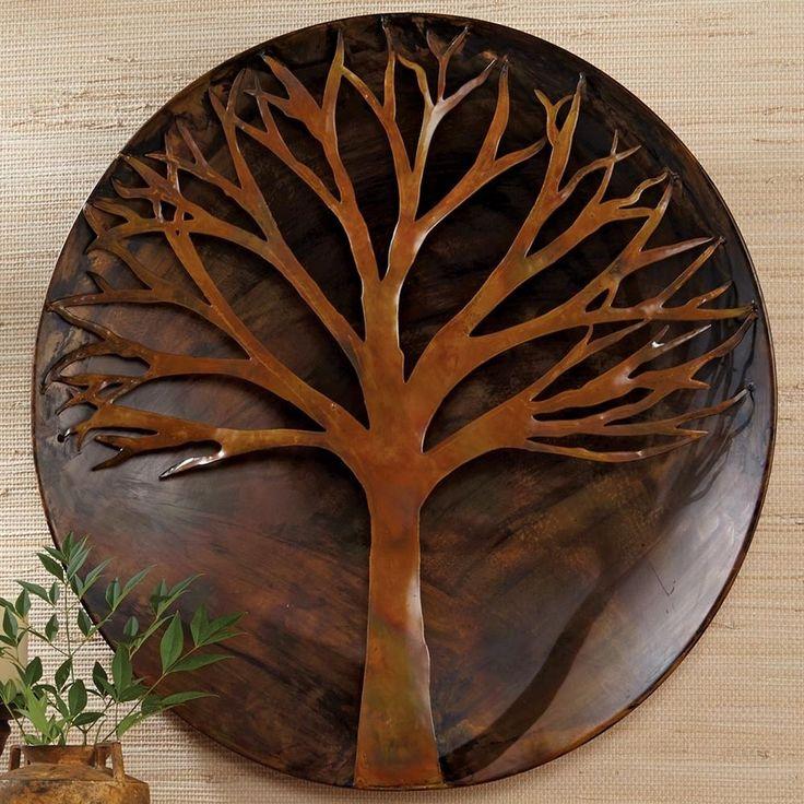 Copper Wall Art Home Decor : Best ideas about metal tree wall art on