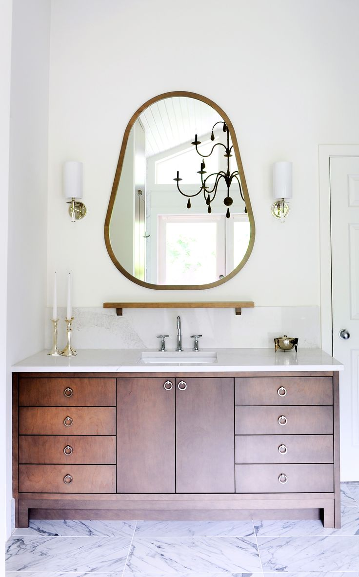 Mixed Materials in a Master Suite | Rue