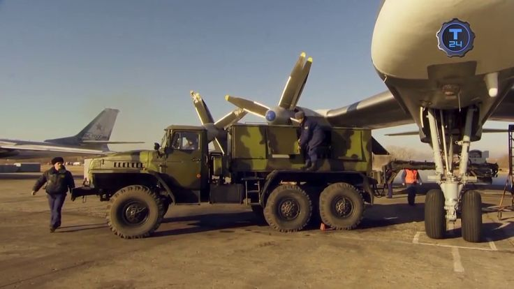 Russia's Tu 95MS 'Bear' Strategic Bomber And Missile Carrier HD 720p