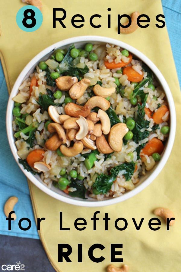 8 Things To Do With Leftover Rice Healthy Rice Recipes Leftover Rice Easy Rice Recipes