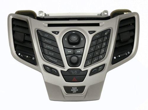 Ford Fiesta 2011-2013 AM FM mp3 Radio Single Disc CD w Vents - AE8T-19C107-AK