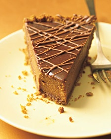 Triple-Chocolate Pumpkin Pie: Marthastewart, Pumpkin Desserts, Sweet, Pumpkin Recipe, Food, Pumpkins, Pumpkin Pies Recipe, Martha Stewart, Triple Chocolates Pumpkin