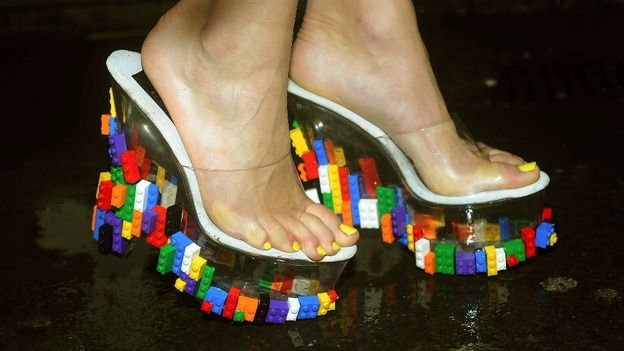 Lego shoes :: LFW 13
