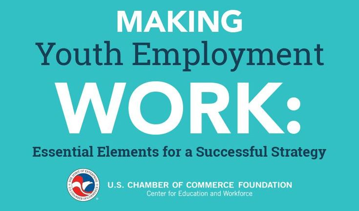 Making youth employment work: essential elements for a successful strategy #opportunityyouth #youngadults #workforce