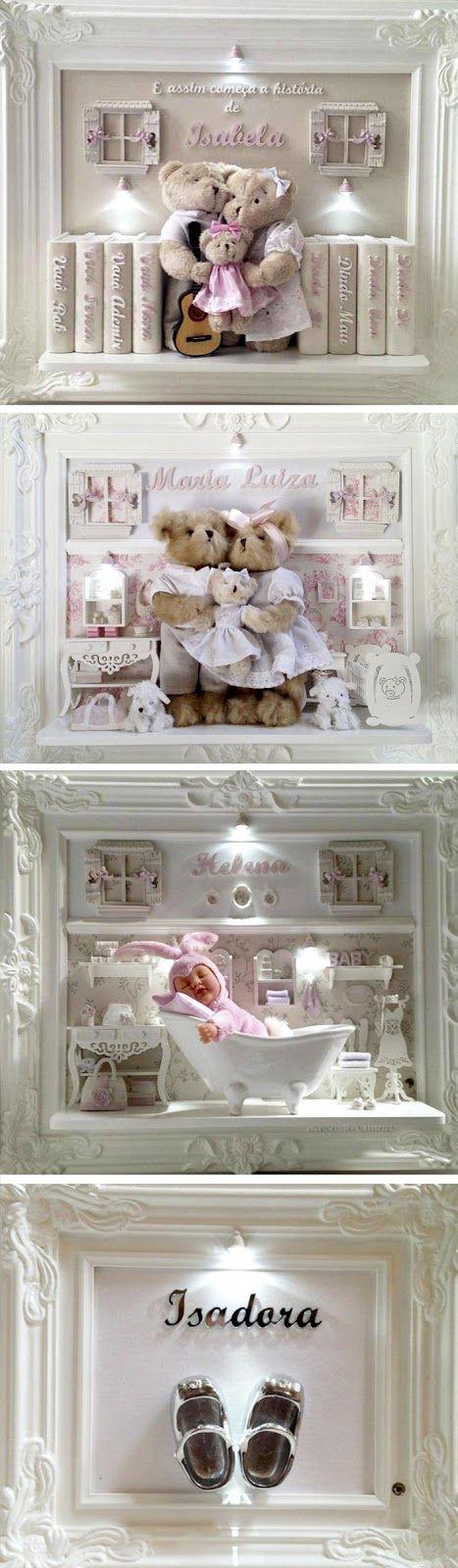 Mexegabula: Boas-vindas: quadros para porta de maternidade