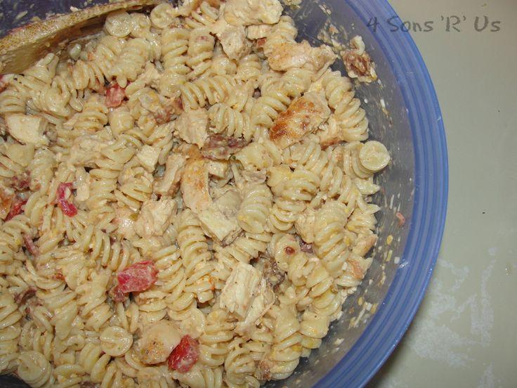 4 Sons 'R' Us: Southwestern Chicken Pasta Salad 3