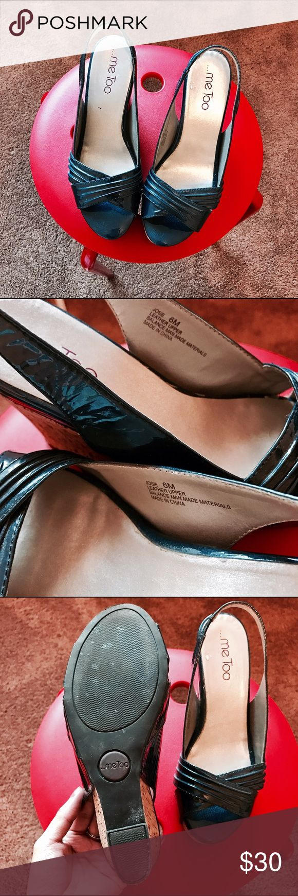 me Too Wedge Pump shoes Good condition, very comfortable me Too Shoes Wedges