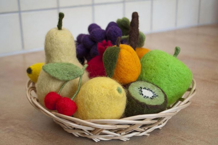 Needle Felted Fruits, made to order- Neat new site I have stumbled upon, a lot like etsy...