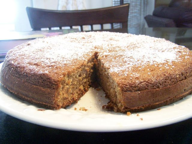 Gluten Free French Almond Cake,  lower carbs