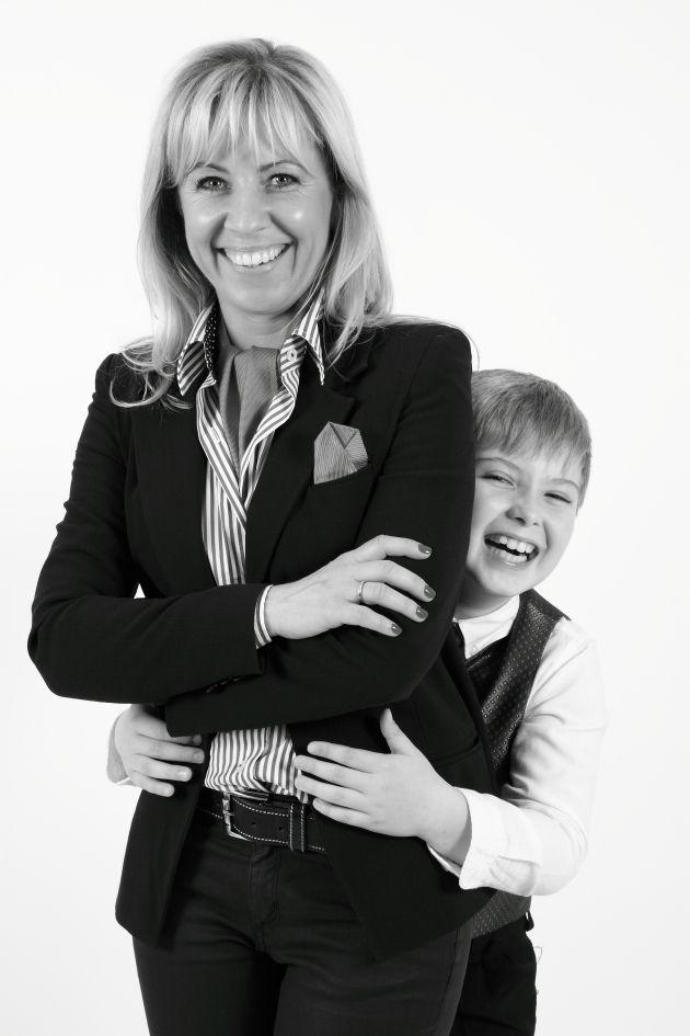 Anya és kisfia