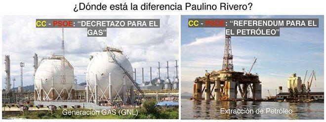Desde Nueva Canarias decimos no al petróleo y al gas.