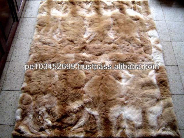 Baby Alpaca Rug Carpet Bedspread 82 X 67