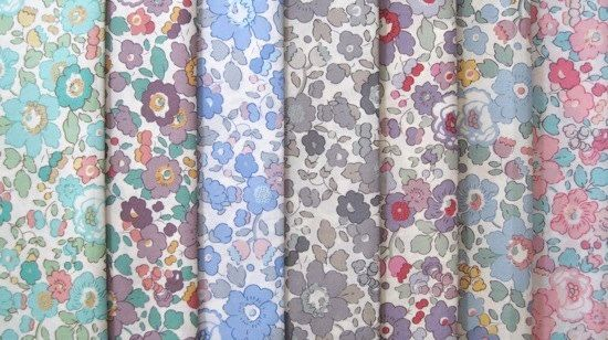 liberty fabric--Betsy limited edition