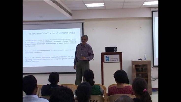 """The Economics of Sustainable Transportation"" by S. Sriraman."