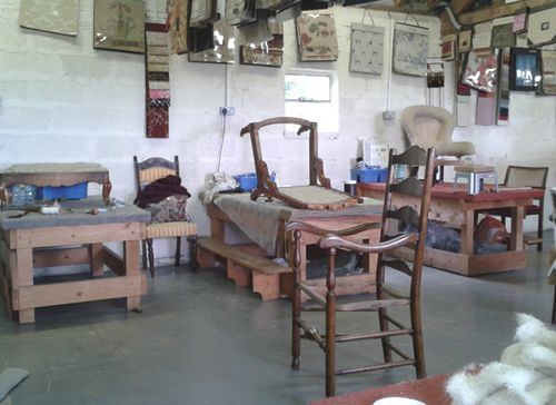 Learning New Skills At The Traditional Upholstery Workshop