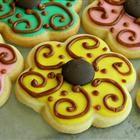 Beautiful sugar cookies.