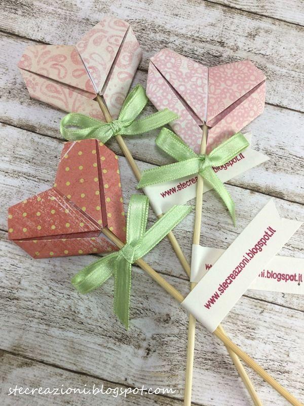 Ste creazioni: Cuori origami