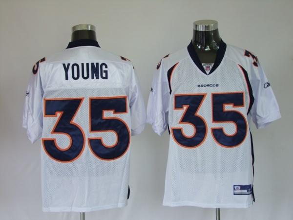 9a09e00cf3a ... Jersey 27 - Young White Premier NFL Jerseys Wholesales We offer best NFL  Denver Broncos Jerseys Wholesale for 2012 ...