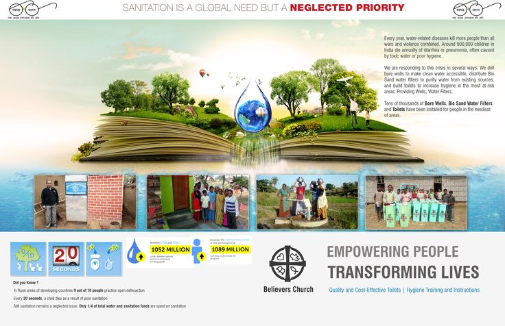 Believers Church Brochure  (Front & Back Cover)