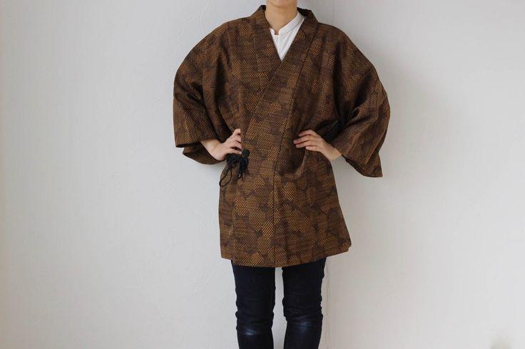 Etsy のkimono top, Japanese jacket, kimono coat, oriental clothing /1419(ショップ名:LitreJapan)