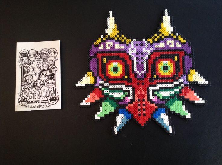 Majora's Mask Pixel Art by Obsolete Gaming