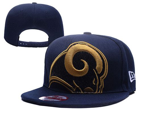 NFL Los Angeles Rams Stitched Snapback Hats 001