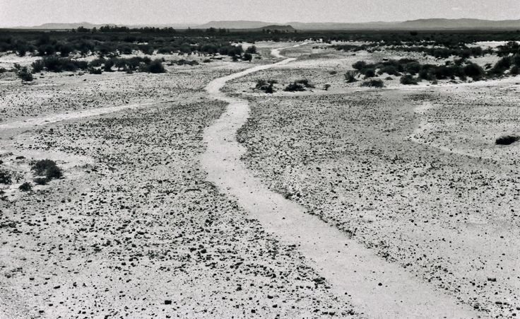 """Richard Long - pioneer of walking as a way to explore relationships between time, distance, geography and measurement. """"These walks are recorded in my work in the most appropriate way for each different idea: a photograph, a map, or a text work. All these forms feed the imagination."""""""