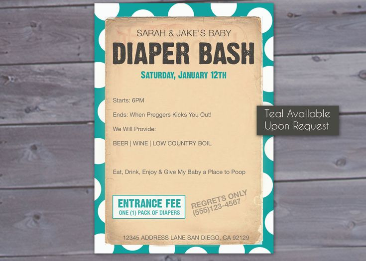 Best Diaper Baby Shower Party Images On   Baby