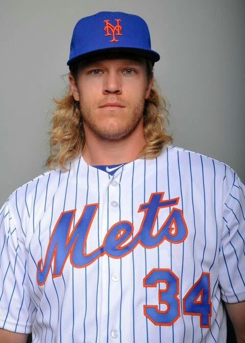 Noah Syndergaard is on the mound for the New York Mets today!