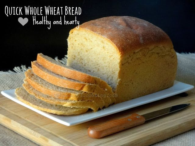 Healthy and hearty Whole Wheat Bread