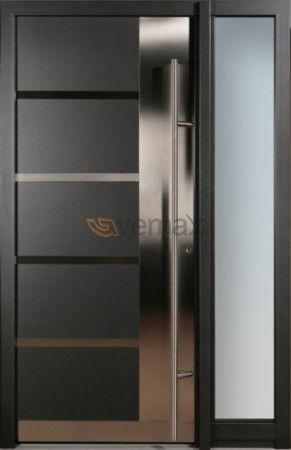 awesome puerta de entrada en aluminio elegancia seguridad y diseo las puertas de entrada de aluminio with ventanas de aluminio modernas