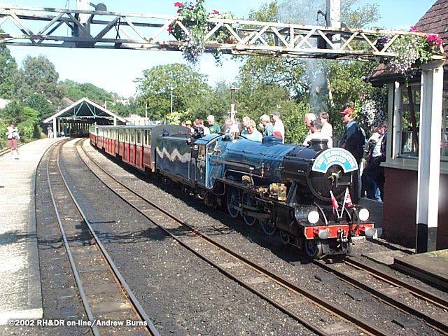Romney. Hythe and Dymchurch Railway