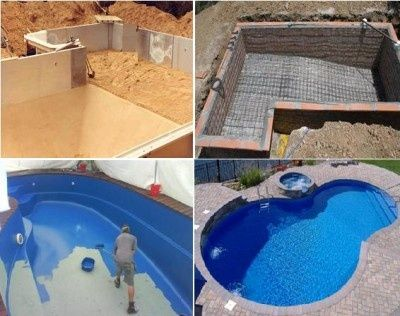 48 best pool construction images on pinterest swimming for Top pool builders