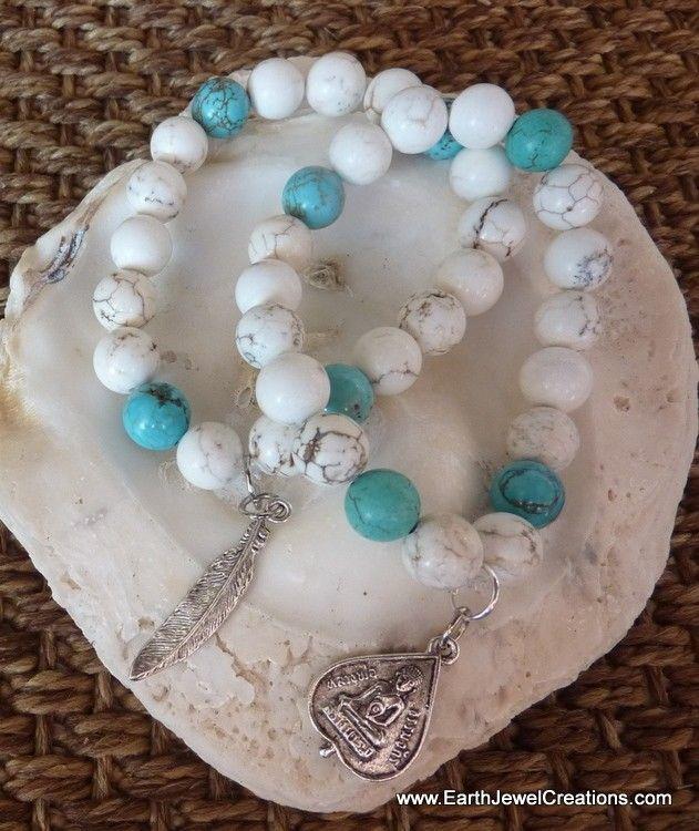 Harmony & Clarity Bracelet - Inspirational handmade gemstone jewellery Earth Jewel Creations Australia