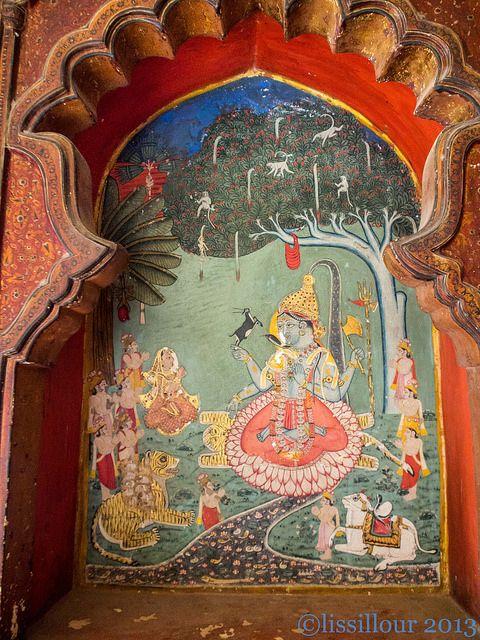 Lord Krishna and the gopis Navré pour la qualité tres peu de lumiere Sorry for quality no light | Flickr - Photo Sharing!