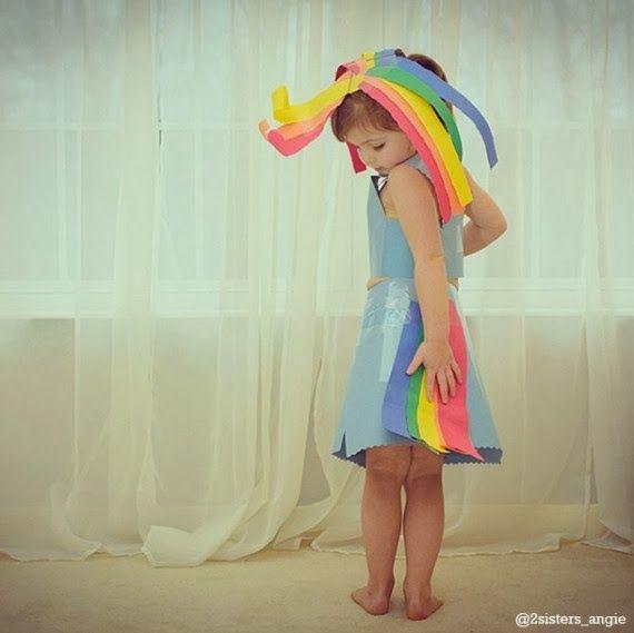 Prachtige papieren jurken / Amazing paper dresses