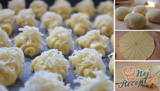 Vynikající sýrové croissanty | NejRecept.cz