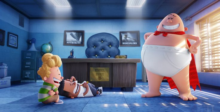 """""""Captain Underpants: The First Epic Movie"""" Shows Off Its Official Trailer"""