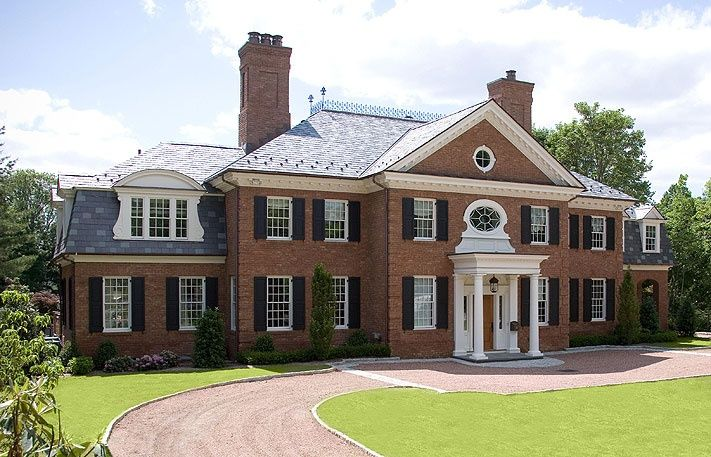 Pin By Shondelle Dennis On Red Brick Colonial Pinterest