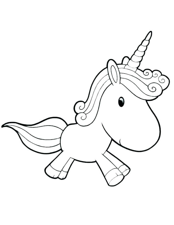 Cute Unicorn Coloring Page Youngandtae Com Unicorn Coloring Pages Baby Unicorn Cute Coloring Pages