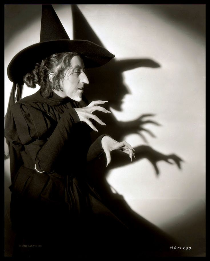 Wicked Witch Margaret Hamilton. 1939