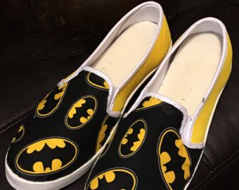 Custom Batman converse by ABlingbySimonellc on Etsy
