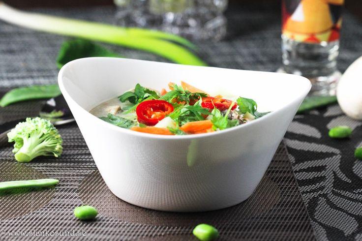 Tom cha phak-Soppa #thomchapak #soppa #soppor #soup #slankosund