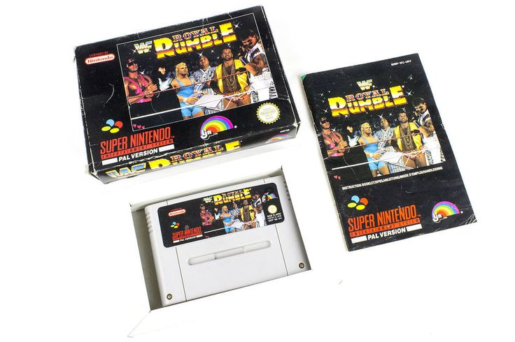 WWF Royal Rumble for the Super Nintendo, SNES by LJN, Boxed, 1993, Wrestling