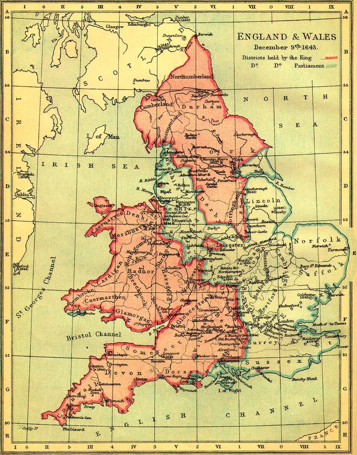 DISTRICTS HELD BY THE KING, 1603: map ✫ღ⊰n